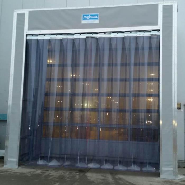 Streifenvorhänge von mehwa-Verladetechnik für Kühlräume