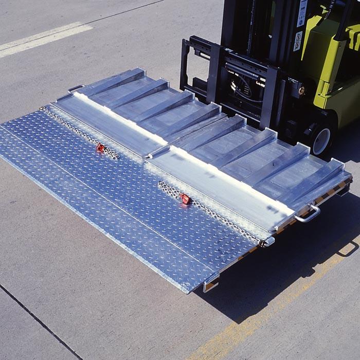 Mobile Container Überladebrücke von mehwa-Verladetechnik